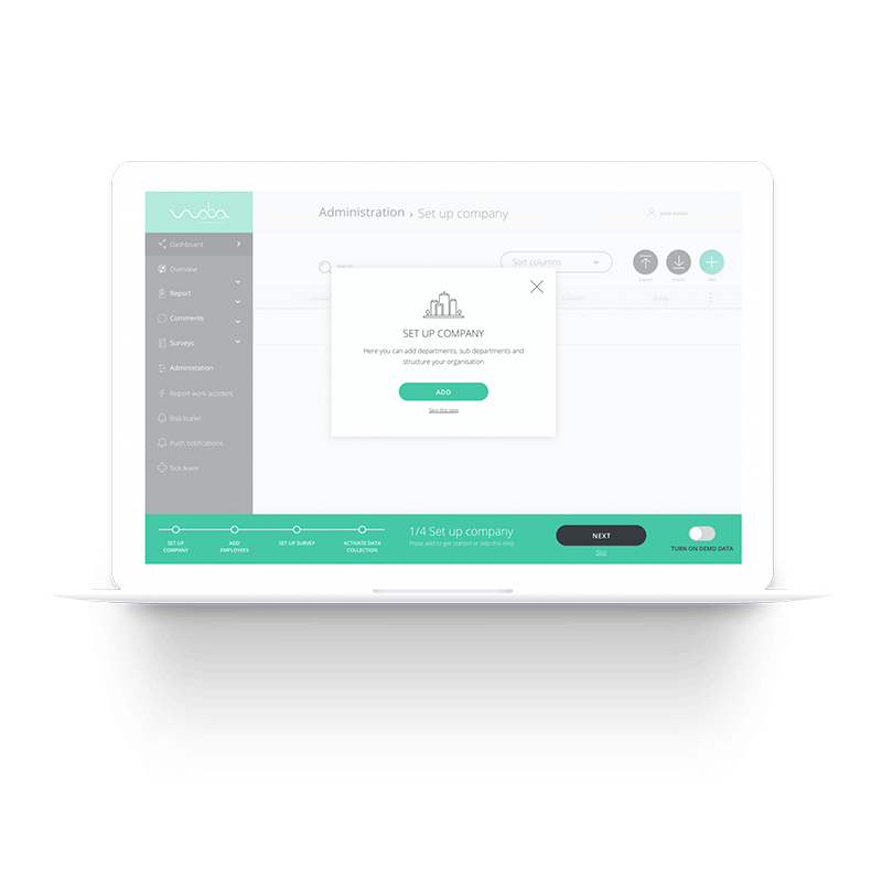 Fast & engaging onboarding experience